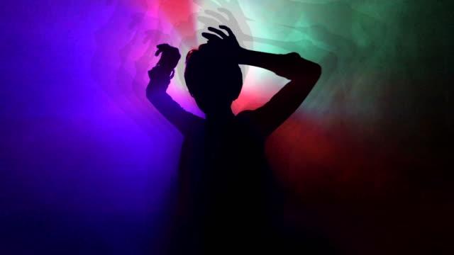 dancing girl in a night club