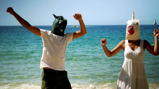 Dança cavalos - vídeo