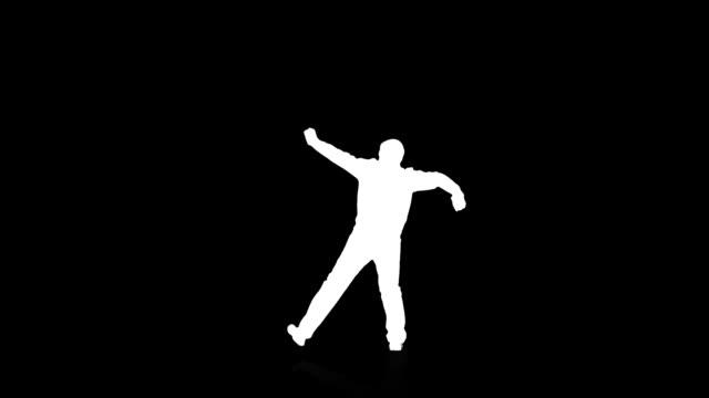 tanz für herren - tanzkunst stock-videos und b-roll-filmmaterial