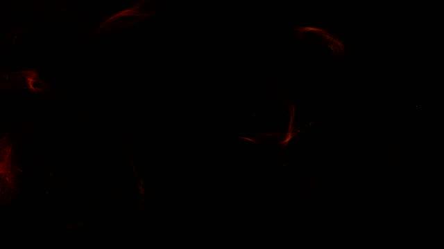 粒子を踊る。デジタル抽象的な背景 ビデオ