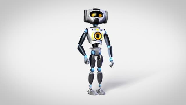 Dancing robot video