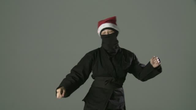 Dancing Santa Ninja video