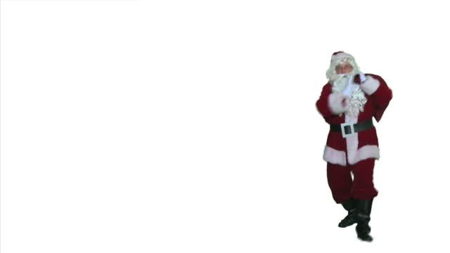 Dancing Santa - Walk On and Off video
