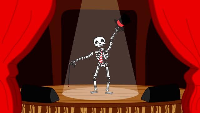 Dancing Skeleton pt.1 video