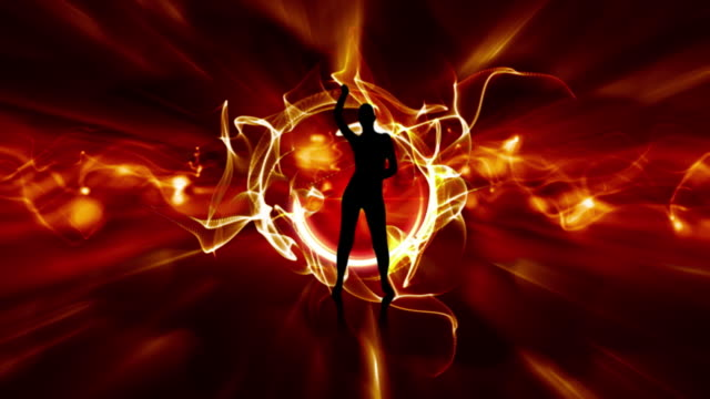 Dancing With Flames - HD video