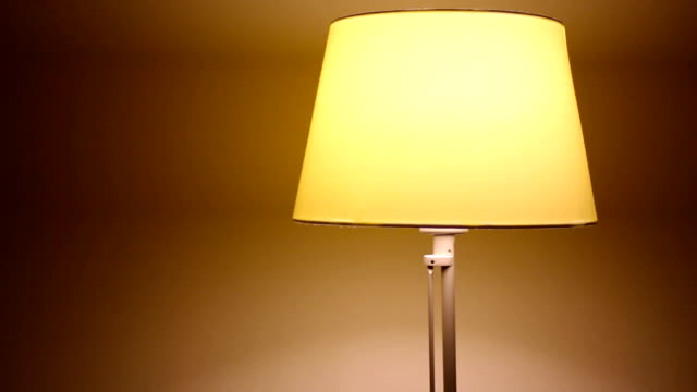 dancing yellow small bedside lamp video