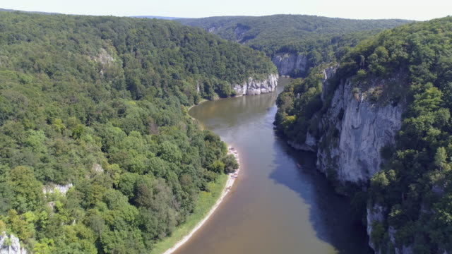 Danube Gorge At Kelheim-Weltenburg video