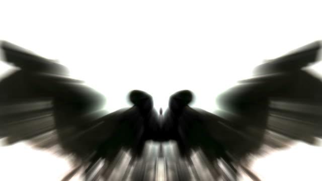 dark angel - angelo video stock e b–roll