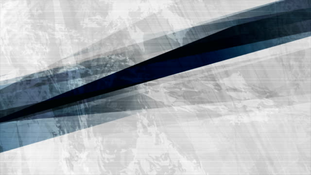Dark blue grunge stripes abstract motion design