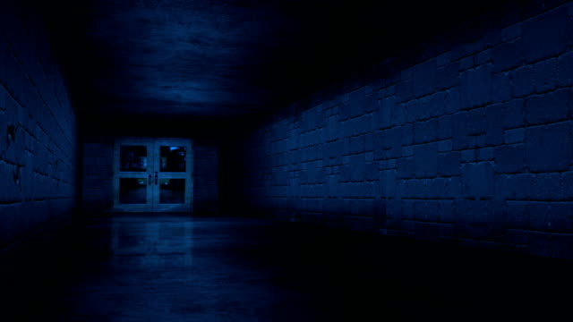 Dark Blue Tunnel HD video