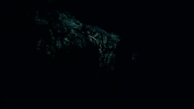 Dark cave Dark cave cave stock videos & royalty-free footage