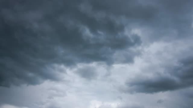 Dark cloud storm video