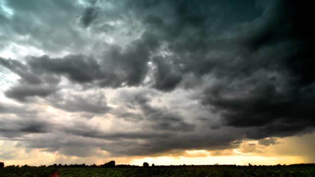Dark cloud Time Lapse video