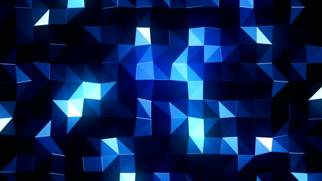 Dark Geometric Background (Loopable) video