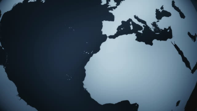 Dark Globe Animation (Loopable) video