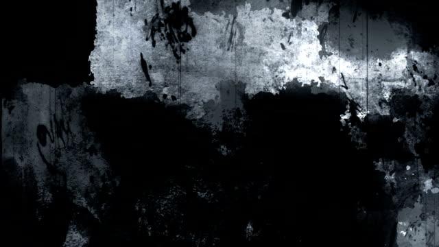 vídeos de stock, filmes e b-roll de fundo escuro da textura de grunge - sujo