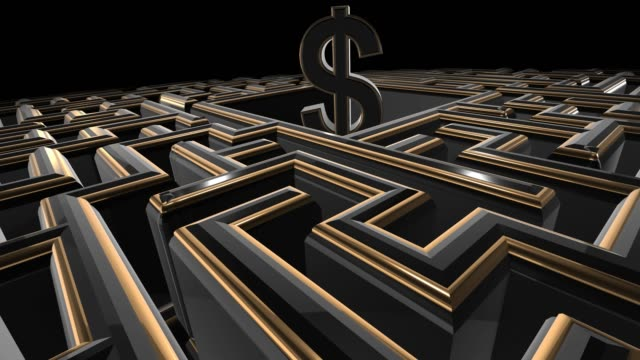 Dark maze towards financial security and wealth success creation