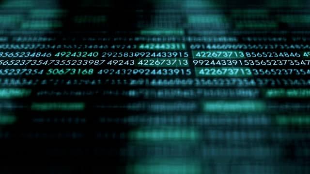 vídeos de stock e filmes b-roll de dark ominous computer application running on a modern computer alt - corruption