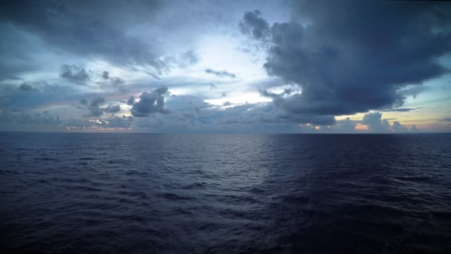 Dark Skies Over the Open Sea