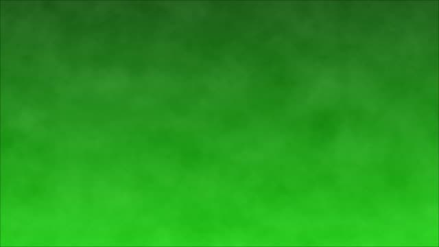 vídeos de stock e filmes b-roll de dark smoke on a green screen background, chroma key - nevoeiro