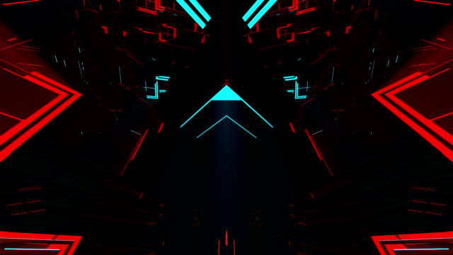 3D Dark Strobe Therapy VJ This seamlessly looping video features black 3D geometries generating reflections and volumetric light in motion suited for your events, audio visualizations, nightclubs, fashion shows, concert stages, music clips, VJ editors or stage composition backgrounds. neon colored stock videos & royalty-free footage