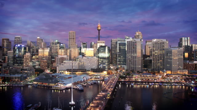 Darling Harbour, Sydney, Australia video