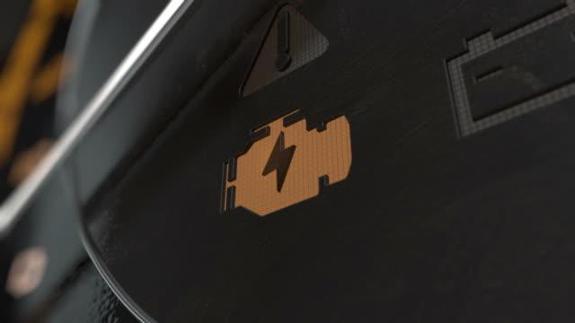 dash light check engine  ex - sprawdzać filmów i materiałów b-roll