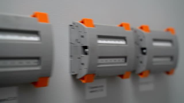 Dashboard in a solar power station