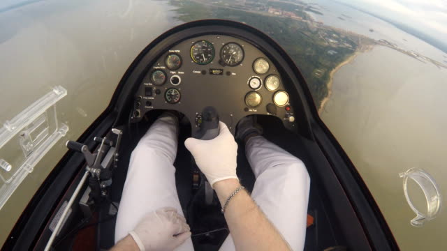 Dashboard Of The Flying Autogyro video