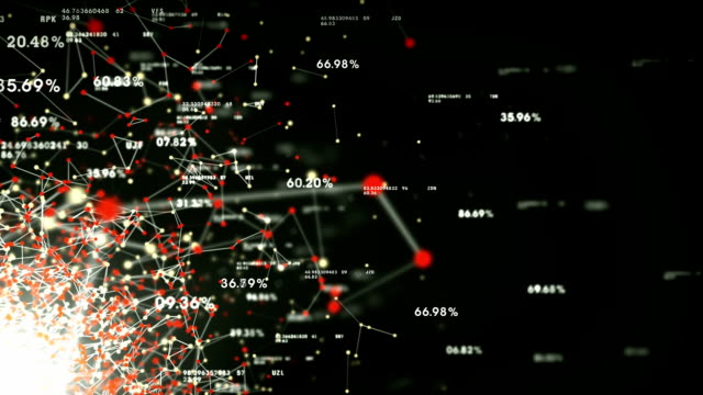 Données et réseaux noir - Vidéo