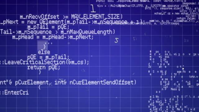 Data and padlock on circuit board