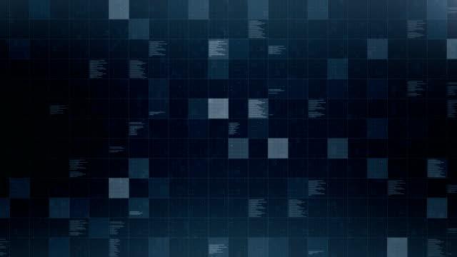 vidéos et rushes de base de données, bouclables - quadrillage