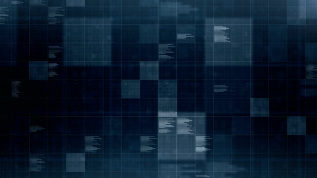 Data Background, Loopable Loopable abstract data background dark blue stock videos & royalty-free footage