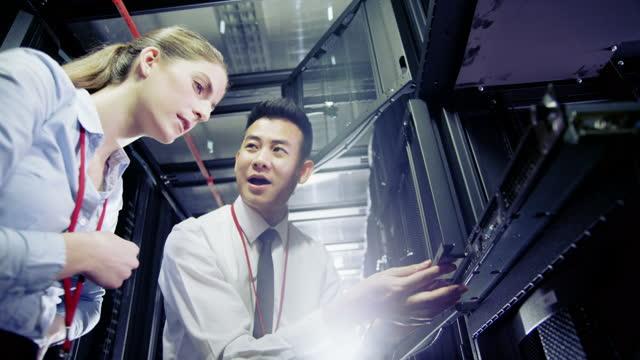 Data Centre Cloud Computing Servers video