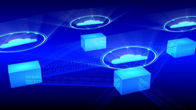 Data cloud storage technology. video