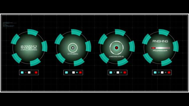 Data Screen UI interface video