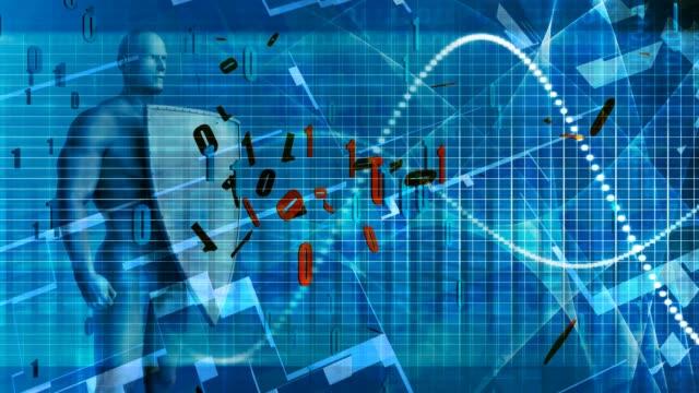 datasäkerhet med stark eller hög kryptering - vpn bildbanksvideor och videomaterial från bakom kulisserna