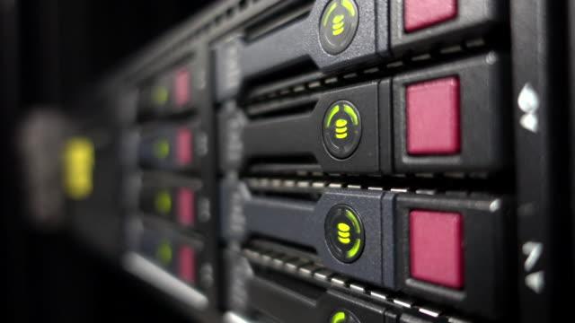 Data servers while working LED Blinking