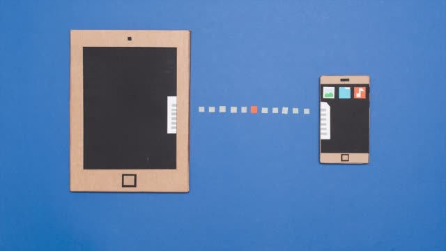 Transfert de données sur les périphériques mobiles - Vidéo