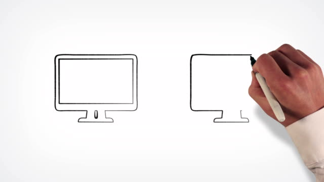 Data transfer Whiteboard Stop-Motion Style Animation video