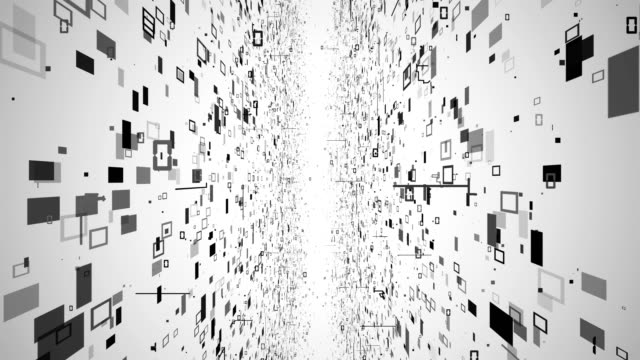 Data Way Technology Background Looped 4K