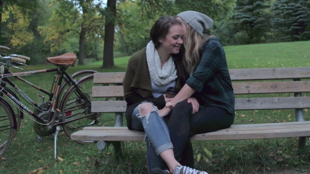 date at the park - same sex couples stock videos and b-roll footage