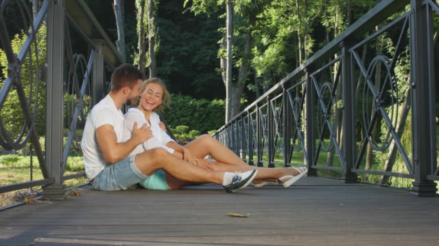 A date on the bridge. video