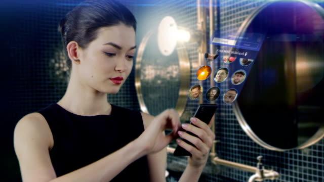 dating-app auswahl datum partner - mobile app stock-videos und b-roll-filmmaterial