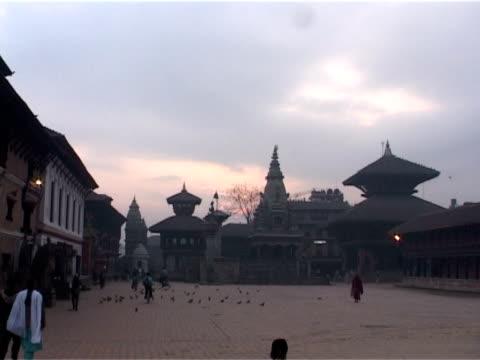 Dawn at Durbar Square video