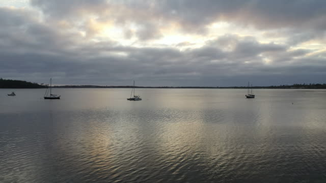 Dawn at Moulting Bay of St Helens of Tasmania, Australia