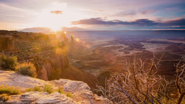 T/L 8K Dawn at the Canyonlands National Park video