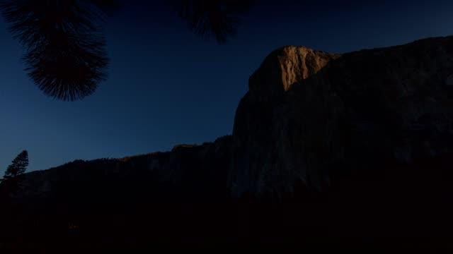 dawn wall sunrise - brent video stock e b–roll