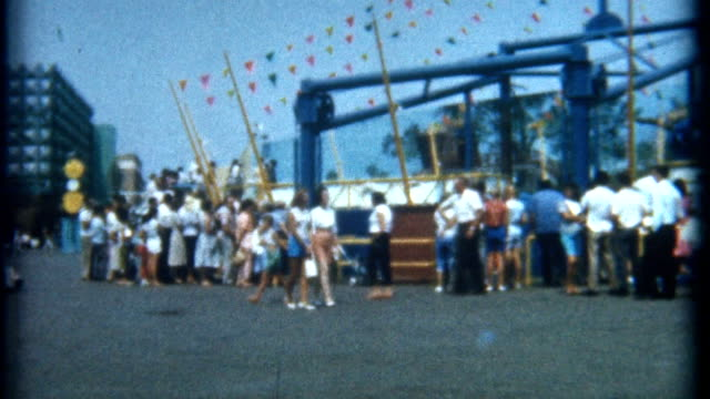 Day at Amusement Park 1965 video