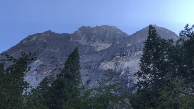 Day Exterior Establishing Shot of Yosemite video